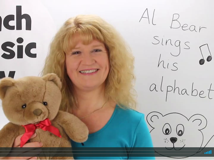 Al Bear Sings His Alphabet (early years song)