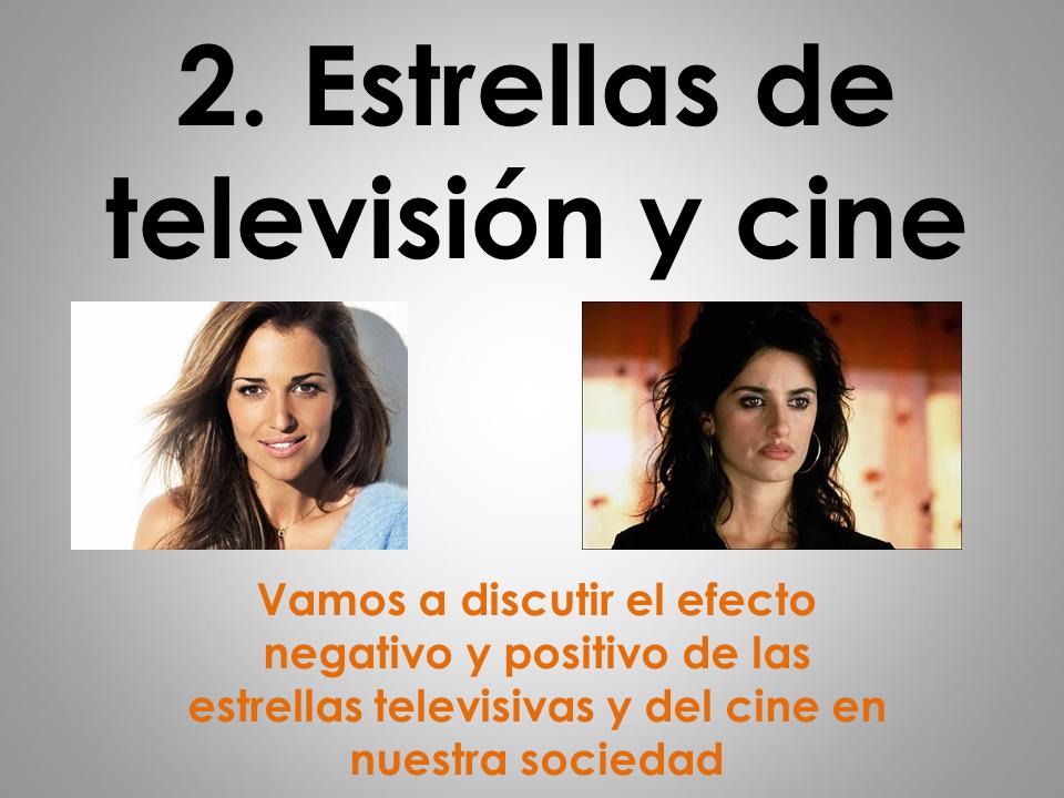 AQA New AS/A Level Spanish La influencia de los ídolos: Las estrellas de la televisión y del cine