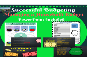 Financial Literacy , Successful Budgeting,  Household Budget