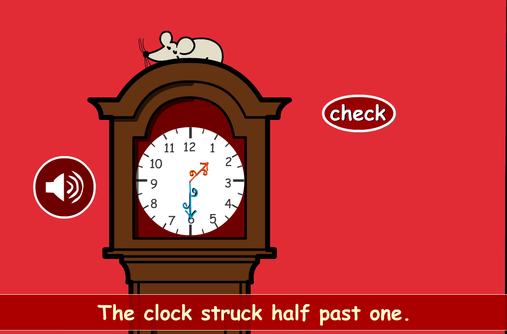 Hickory Dickory Dock Interactive Activity - KS1 Measurement