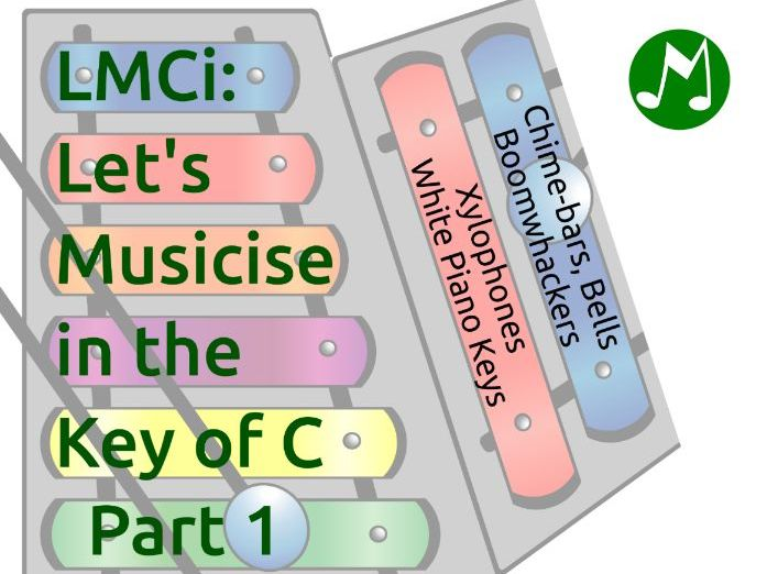 LMCi - method for Boomwhackers, Chime-bars, Bells, Xylophones, Piano