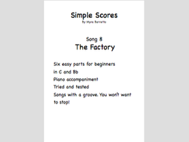 Simple Scores: An easy arrangement for a beginner orchestra. Piece 8 The Factory