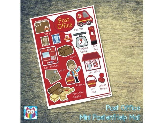 Post Office Mini Posters/Help Mat