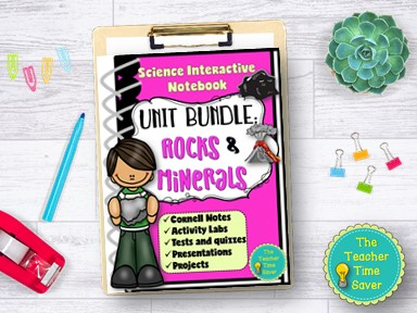 Rocks and Minerals Notebook Bundle