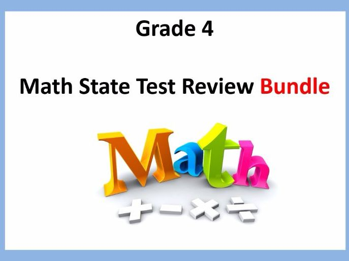 New York State Math State Test Prep: Grade 4 Skills Review