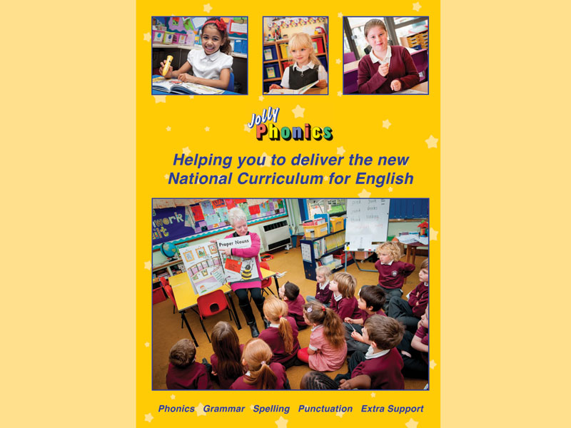 Jolly Phonics and the National Curriculum