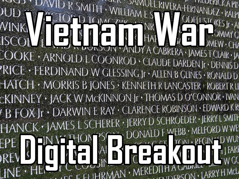 Vietnam War - Digital Breakout