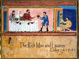 (6.7) 'The Parable of the Rich Man and Lazarus' 23 slides to aid pages 154 & 155.