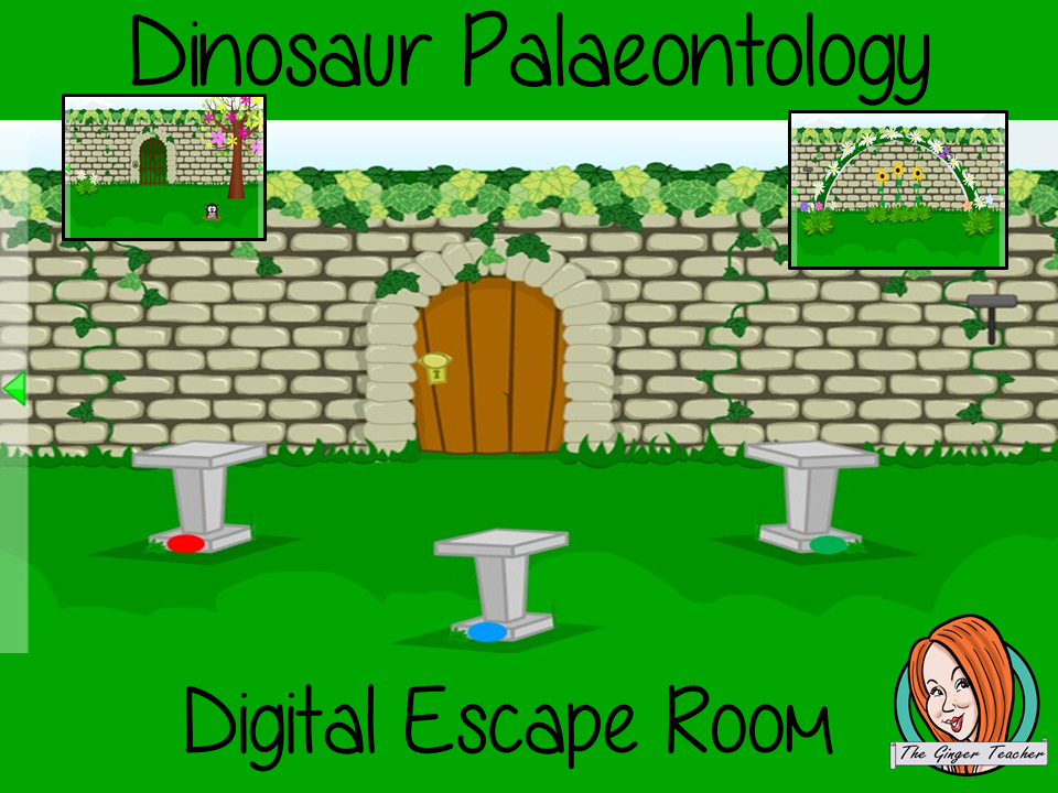 Dinosaurs and Palaeontology Digital Escape Room