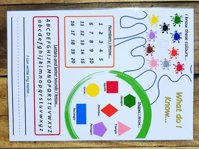 School Readiness Checklist. Pre school. Starting school.