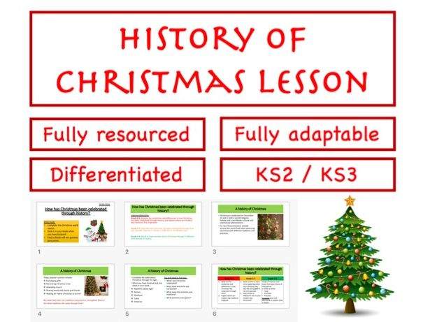 History of Christmas WHOLE LESSON!