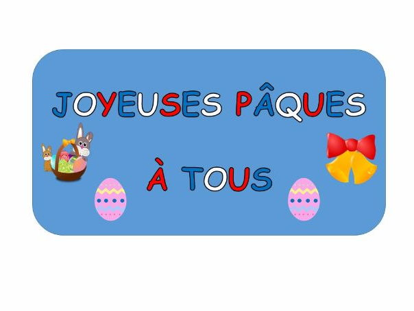 Easter Activities in French - KS2 and early KS3
