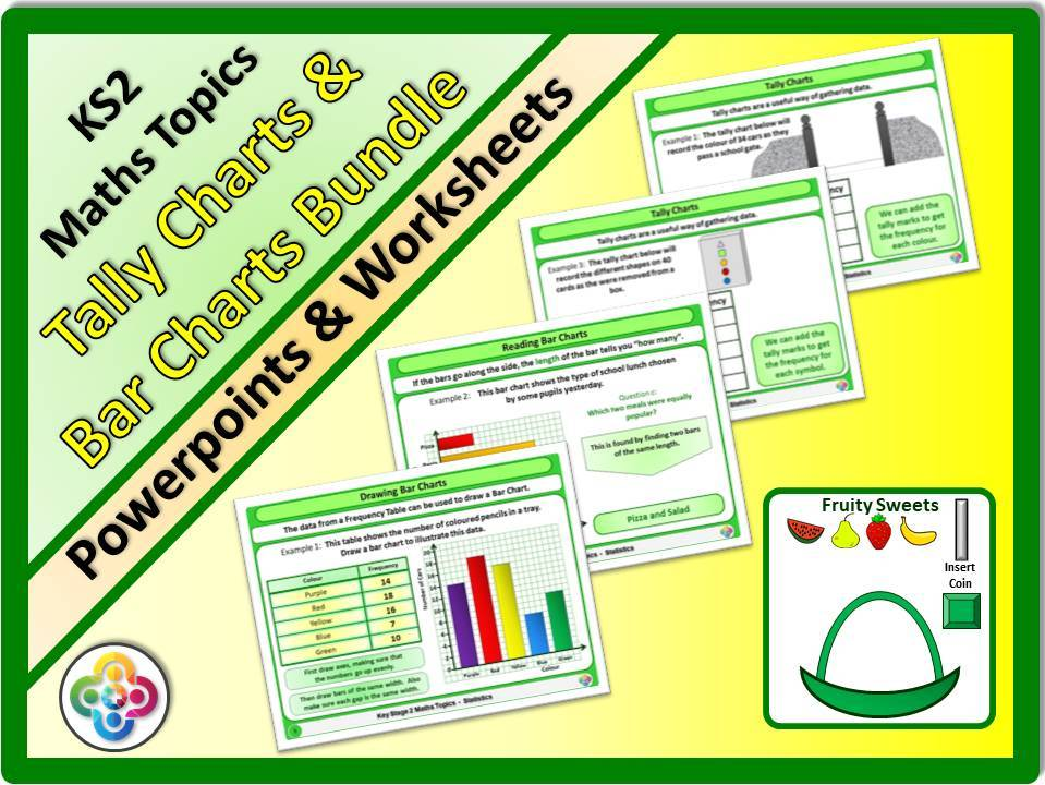 Tally Chart & Bar Chart Bundle KS2