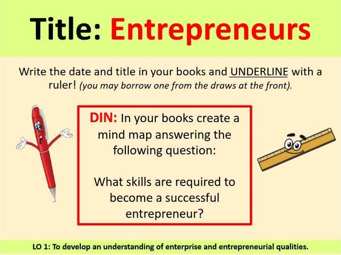 Entreprenuers