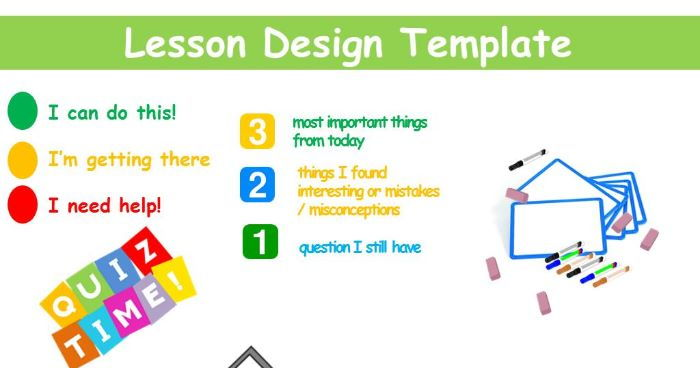 Lesson Design Template