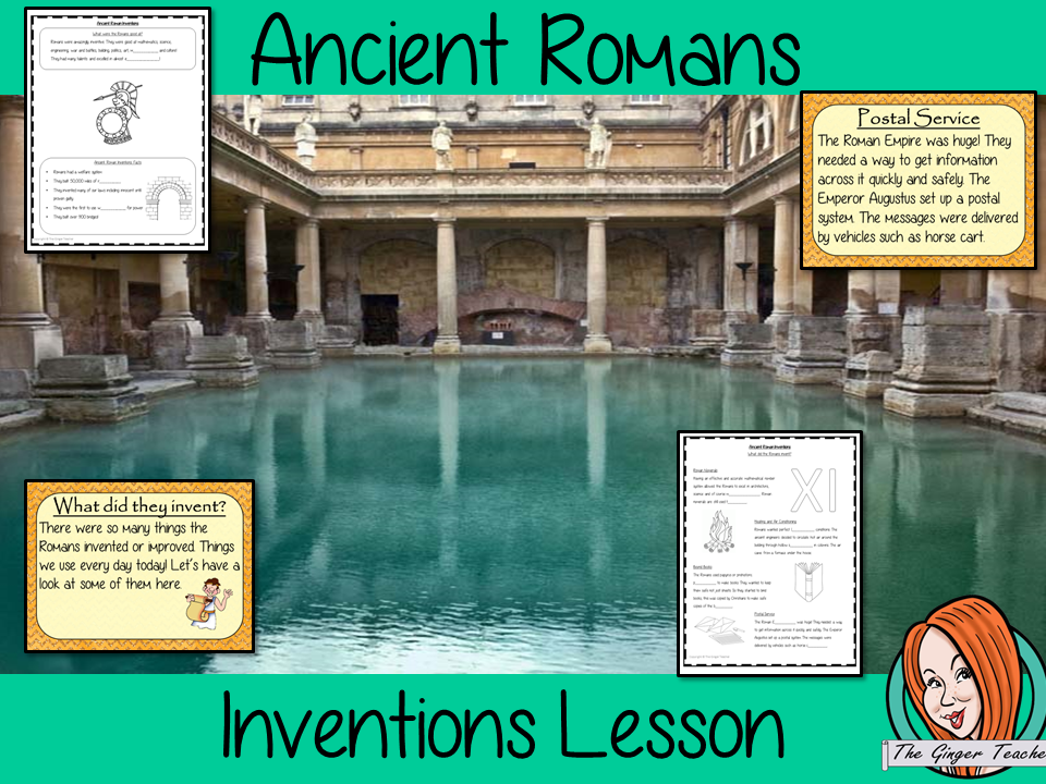 Ancient Romans Inventions Complete History Lesson