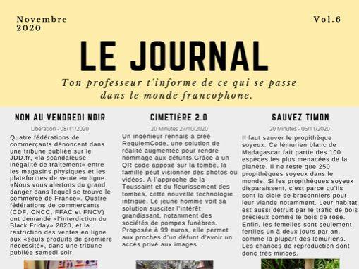 Le Journal 6