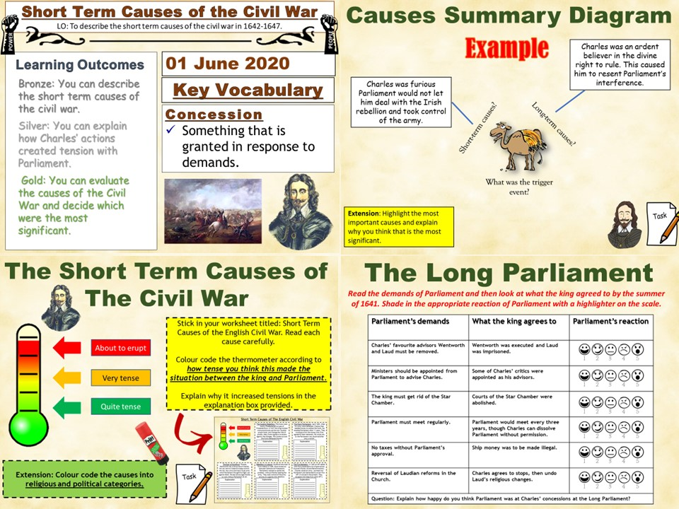 Power & The People: Short Term Causes of The English Civil War