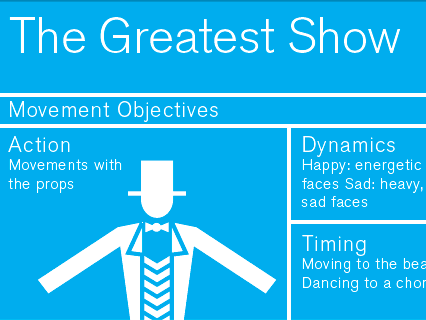 The Greatest Show - KS1 Dance Lesson Plan