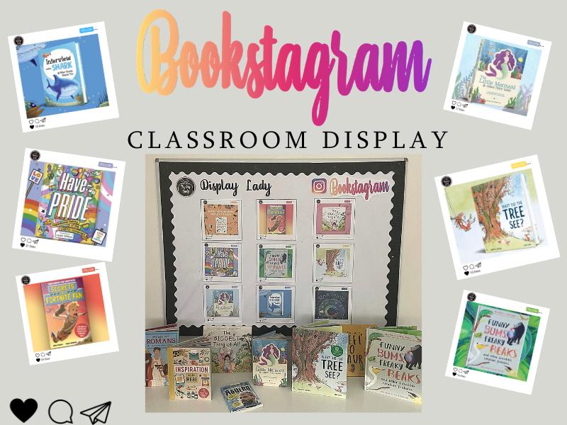 Bookstagram Display