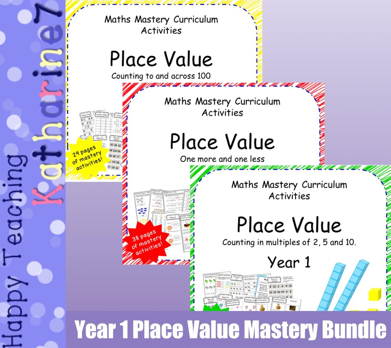Place Value mastery bundle
