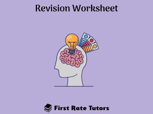 Behavioural Psychology Revision Worksheet
