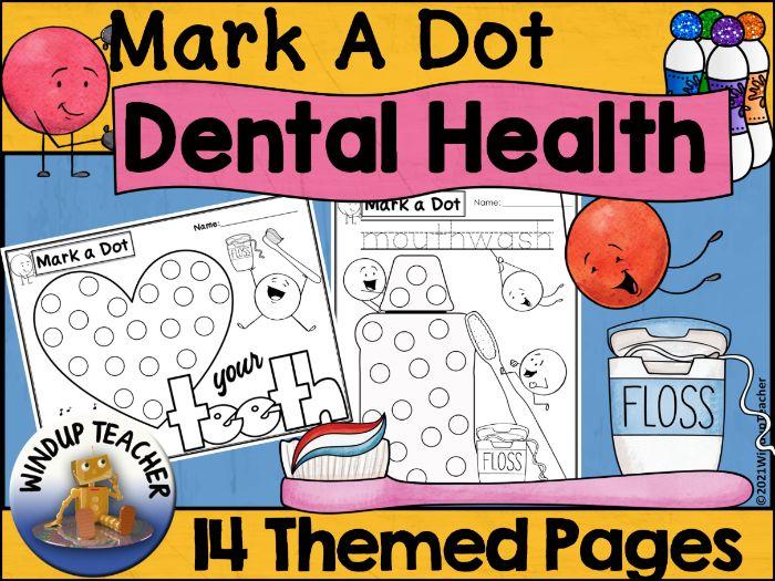 Dental Health Themed Dot Dauber Set