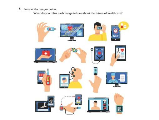 Let's talk about HEALTHCARE TECHNOLOGY!