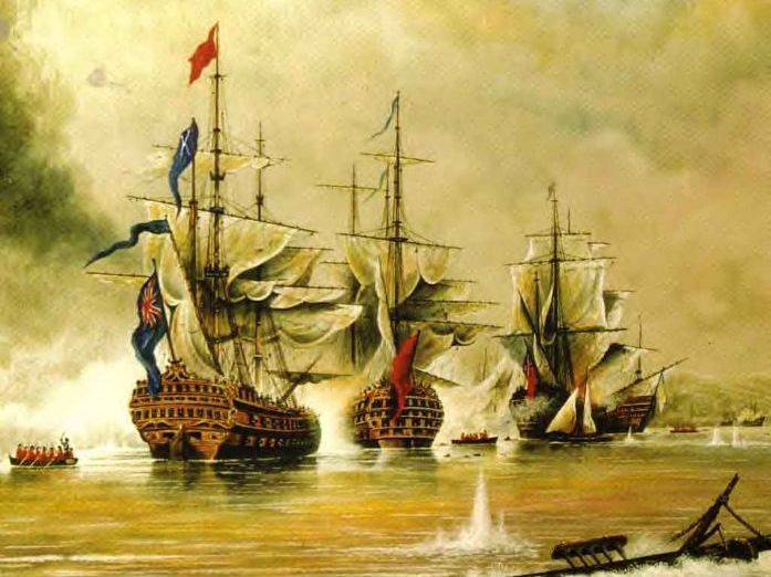 Battle of Trafalgar 1805 - Wolsey Academy - History Club 2