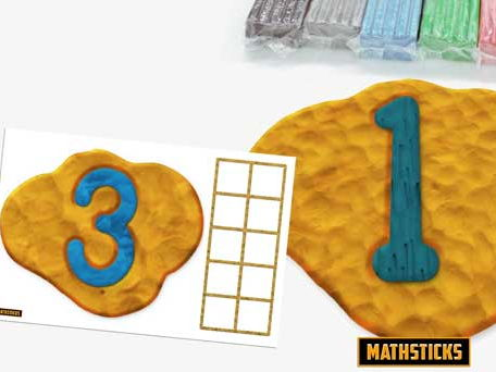 Clay Number Formation Mats