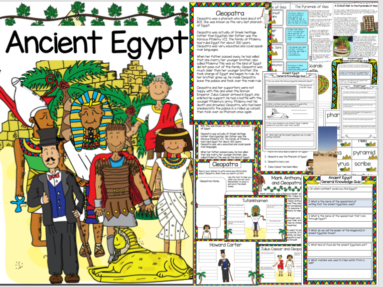 ancient egypt by katqatresources