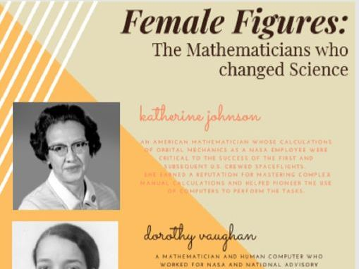 Women in Science Poster - math phobia