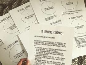 Teachers' Standards Folder Organisers
