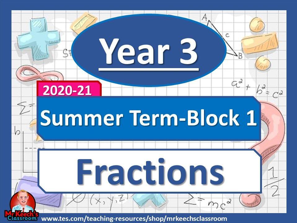 Year 3 - Fractions - Summer Block 1 - White Rose Maths