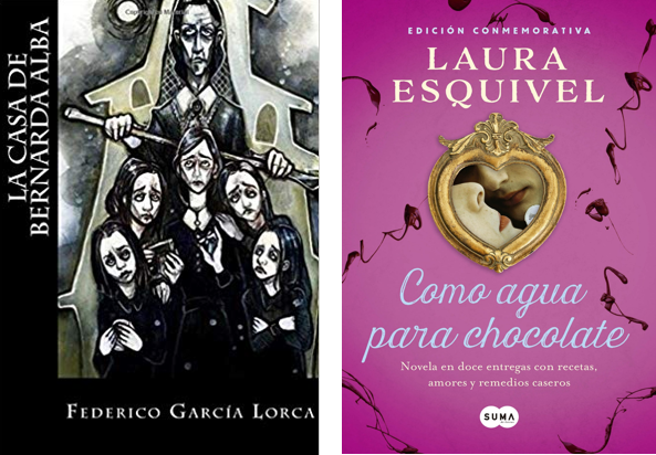 Spanish A Level: Paper 2 (Writing) support bundle. La casa de Bernarda Alba, Como agua para chocolate and Grammar