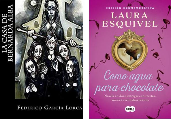Spanish A Level: Paper 2 (Writing) support bundle. La casa de Bernarda Alba, Como agua para chocolate and Grammar