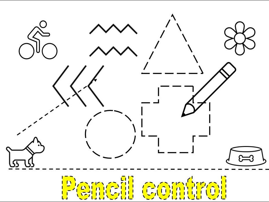 Pencil Control Exercises