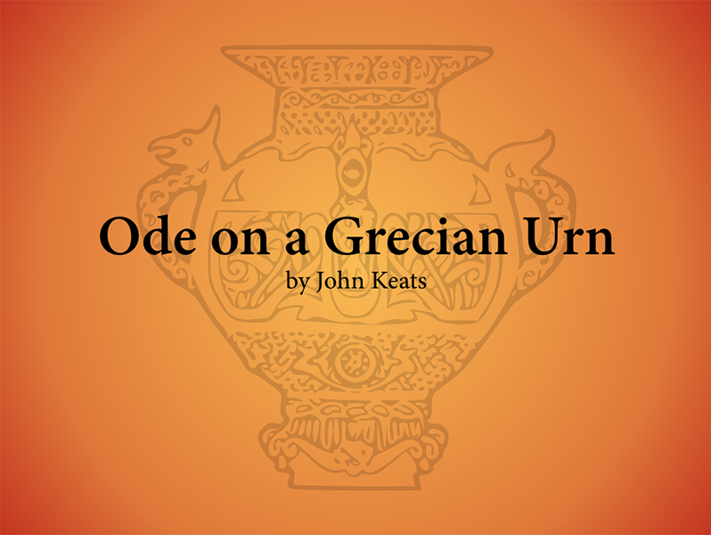 Ode On A Grecian Urn Annotated By Judithgunn  Teaching Resources  Tes