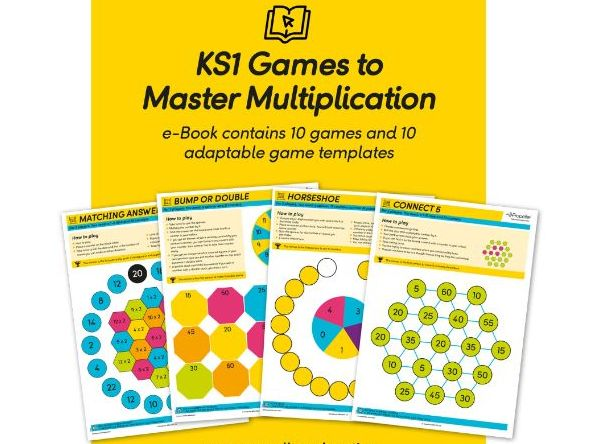 KS1 Games to Master Multiplication (10 Games + 10 Templates)