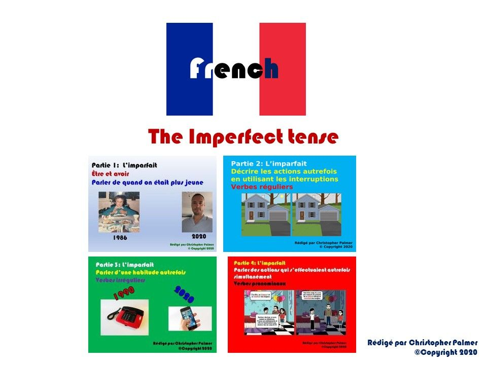 French: The imperfect tense: All four parts for only £10!