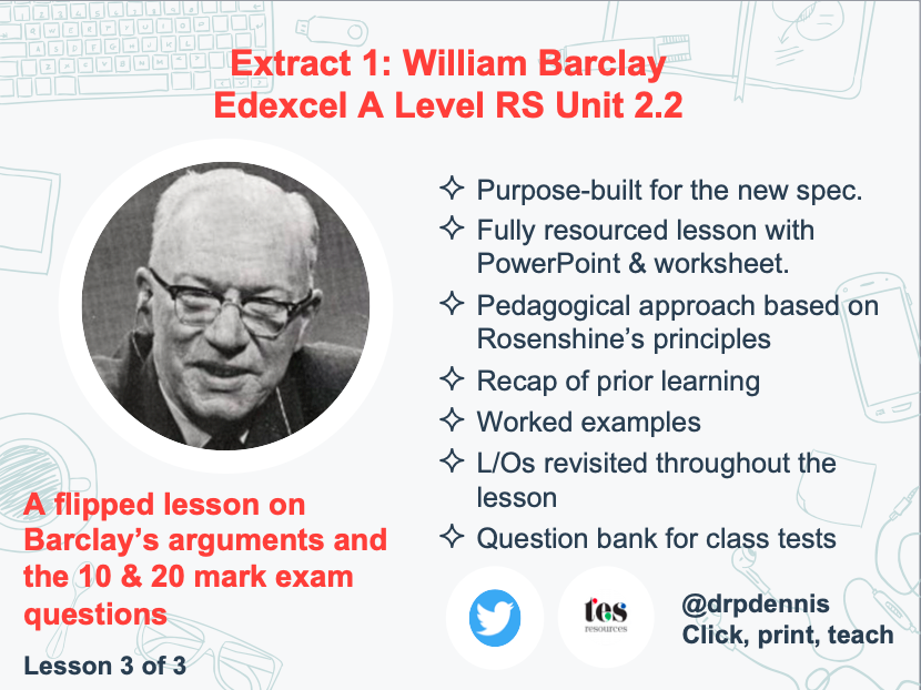 Extract 1: William Barclay on Situation Ethics (Edexcel new spec)
