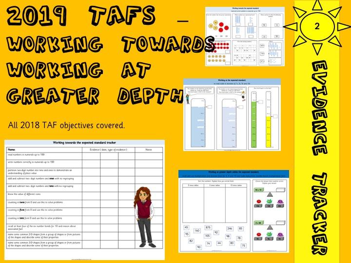 TAF Year 2 Assessment Pack  Maths