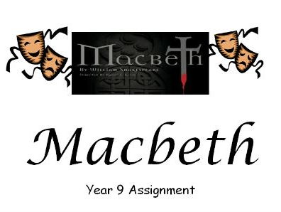 Macbeth (DIFFERENTIATED WORKBOOK) Act 2 Scenes 1 and 2.