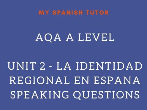 AQA AS SPANISH UNIT 6 - EL PATRIMONIO CULTURAL