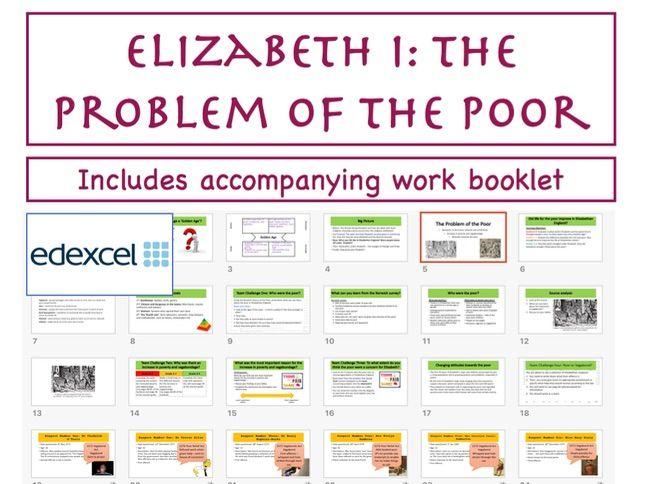 GCSE Elizabeth I: Poverty