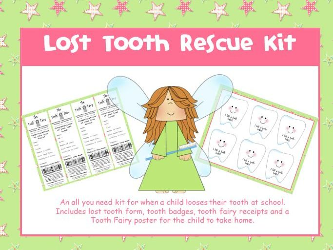 Lost Tooth Rescue Kit