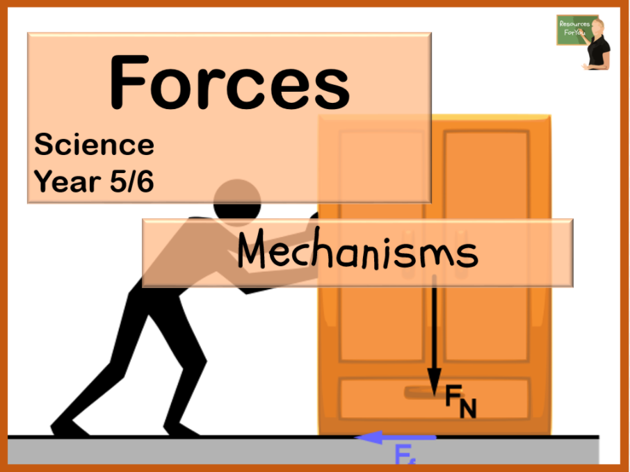 Science- Forces- Mechanisms Year 5/6