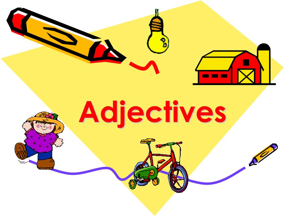 Adjective resource pack