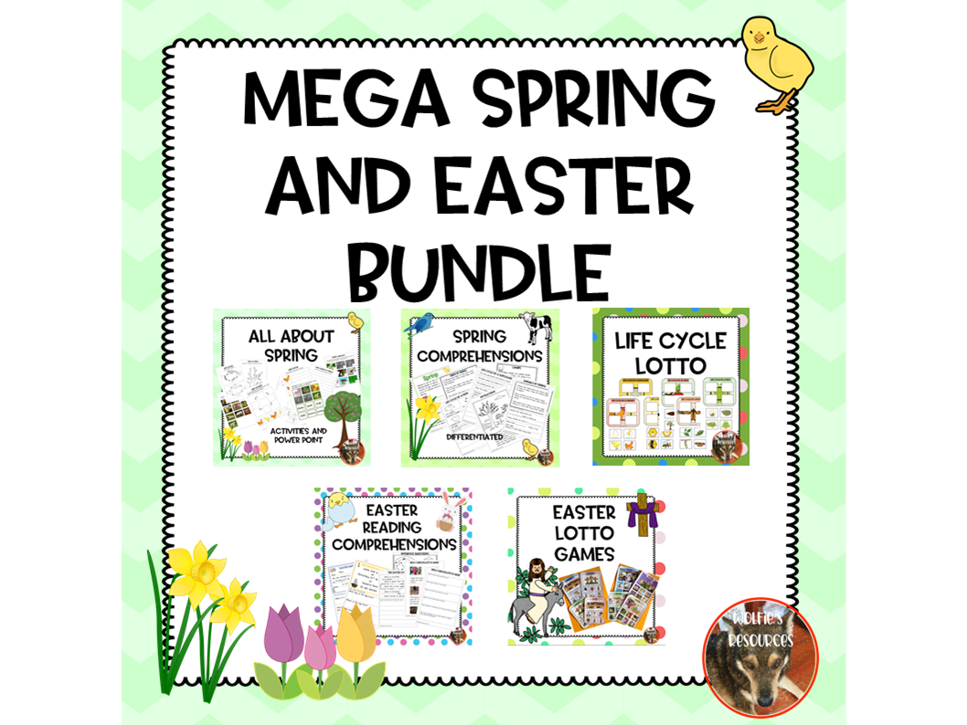 Easter and Spring Bundle