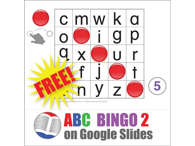 Digital ABC Bingo Lower Case by kinneybrothers   Teaching